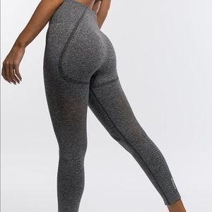 Echt Apparel Arise Cropped Leggings- Charcoal (M)